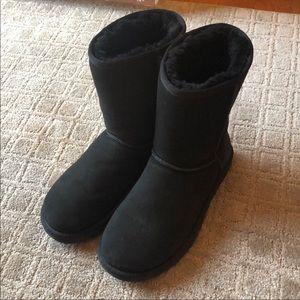 UGG Shoes - 🖤UGG Australia Women's Size 8 Black Fur Boots